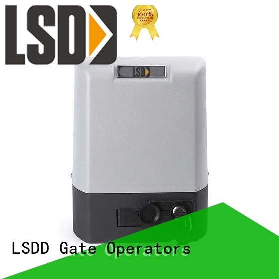 LSDD professional rolling gate opener working placidly for door