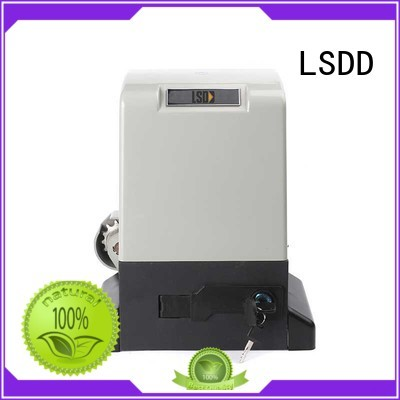 LSDD professional sliding gate opener kit working placidly for gate