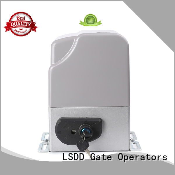 LSDD industrial motorized gate motors working placidly for door