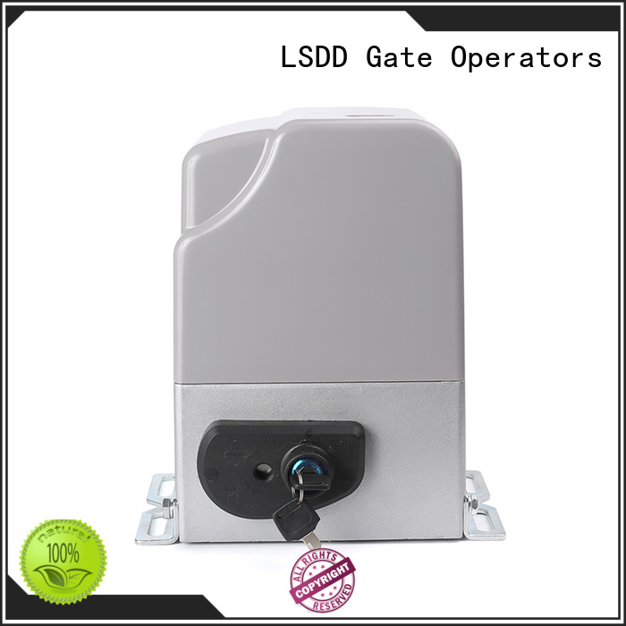 LSDD driven electric driveway gate motors working placidly for gate