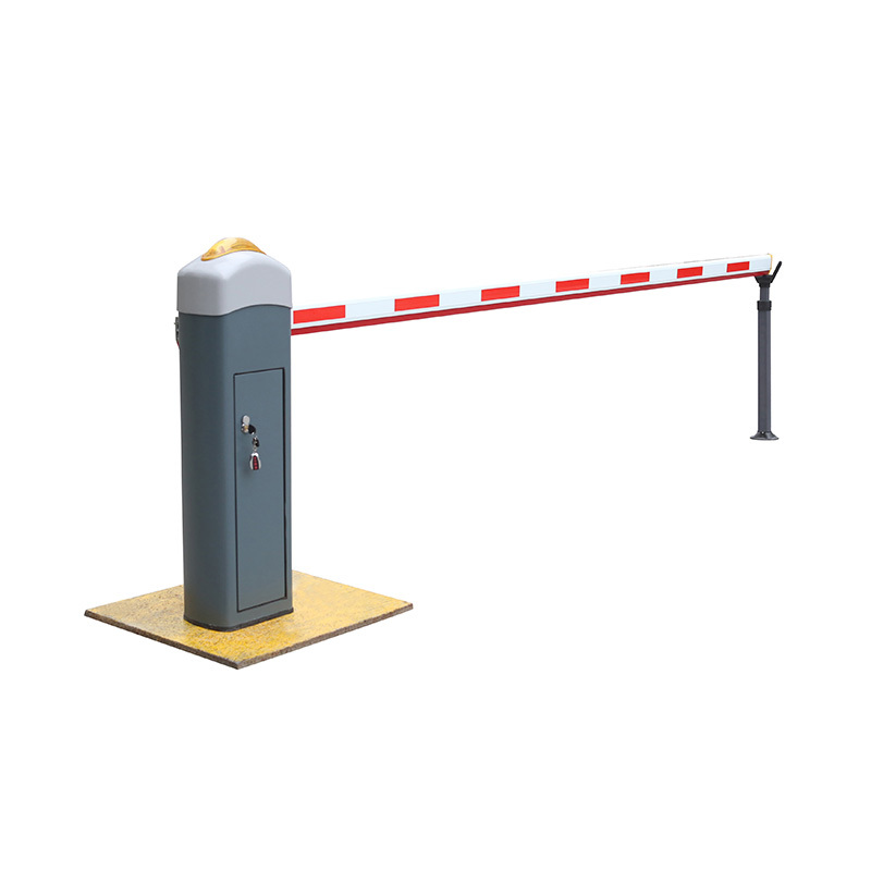 Parking lot barrier gates adjustable crowd control barriers