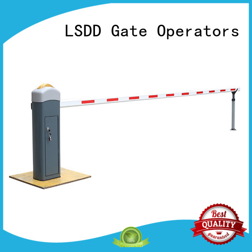 LSDD high quality car park gate manufacturer for parking