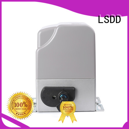 LSDD remote sliding gate motor working placidly for gate