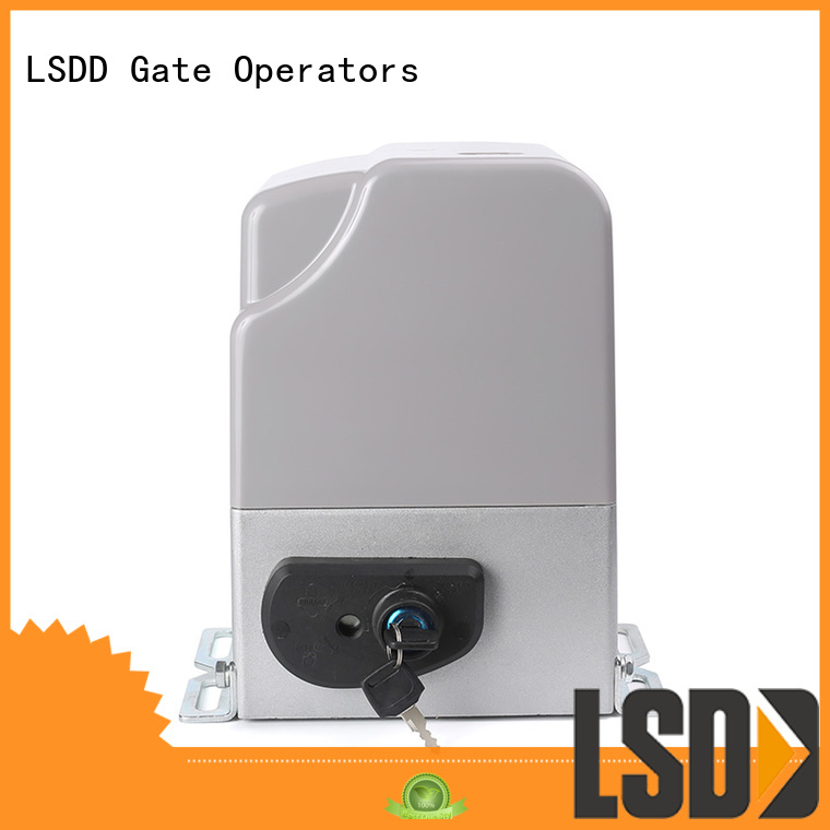 LSDD industrial sliding gate opener working placidly for door