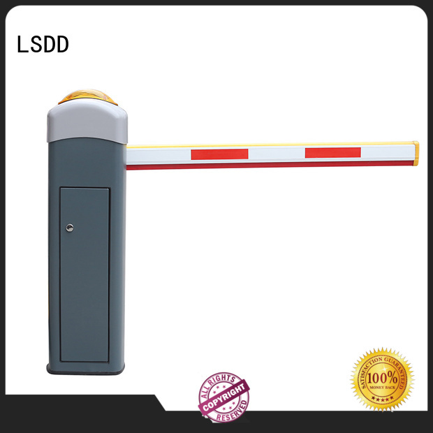 LSDD high quality car park gate supplier for parking