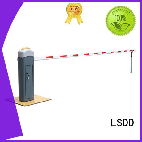 New design LED retractable car parking barrier on market