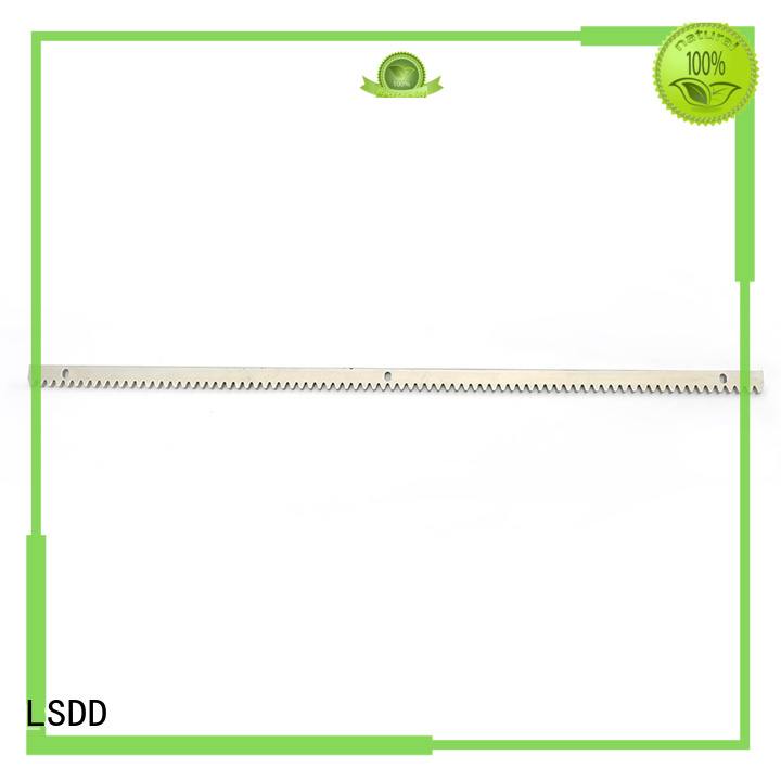 LSDD nylon gear rack rail wholesale for community