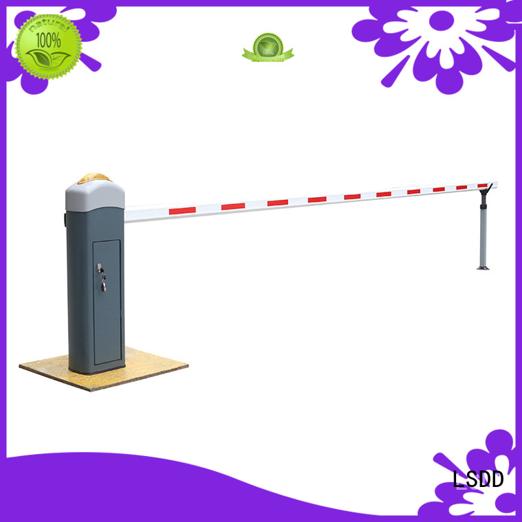 priced-low parking gate arm crowd supplier for gate