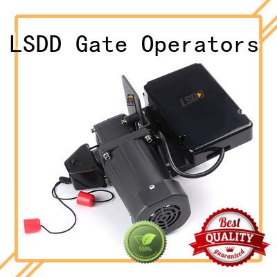 LSDD high quality electric roller gate motors supplier for gate