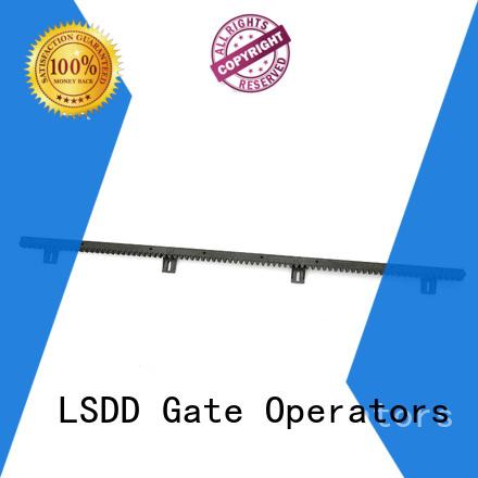 LSDD automatic linear gear rack manufacturer for door