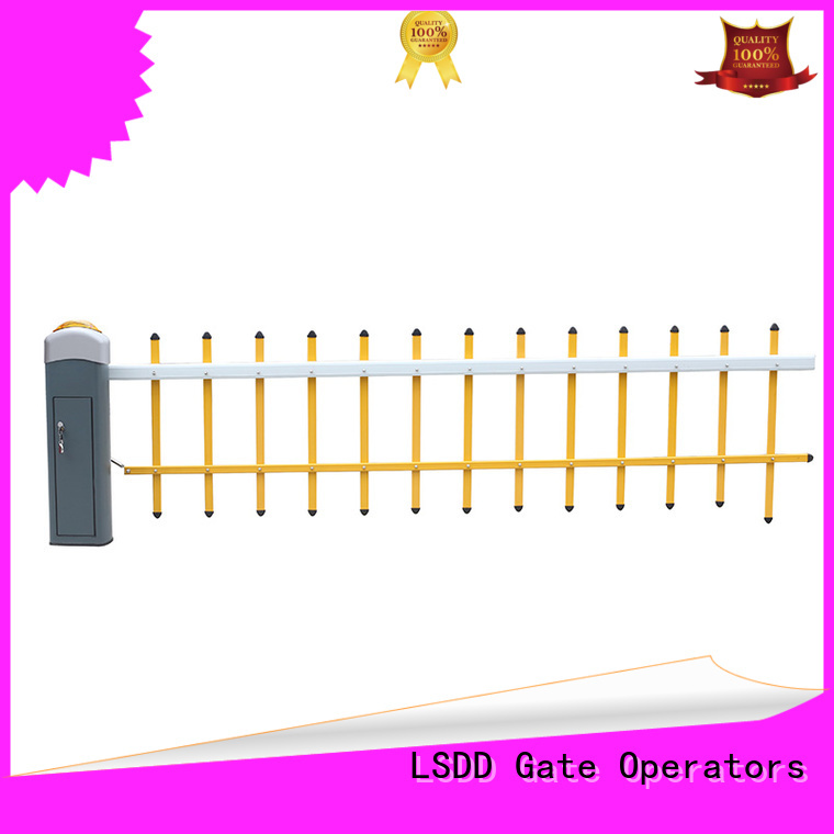 LSDD priced-low parking barrier supplier for community