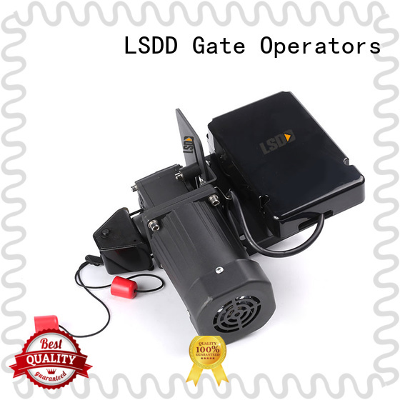 LSDD sectional roll up door operator wholesale for gate