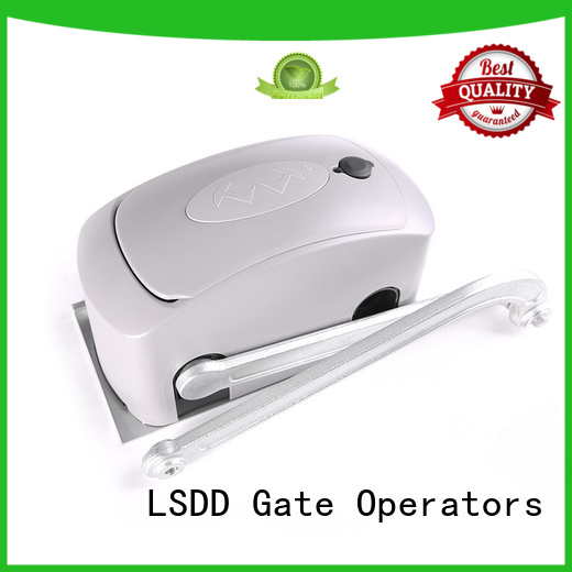 LSDD aluminum swing out garage door opener supplier for gate