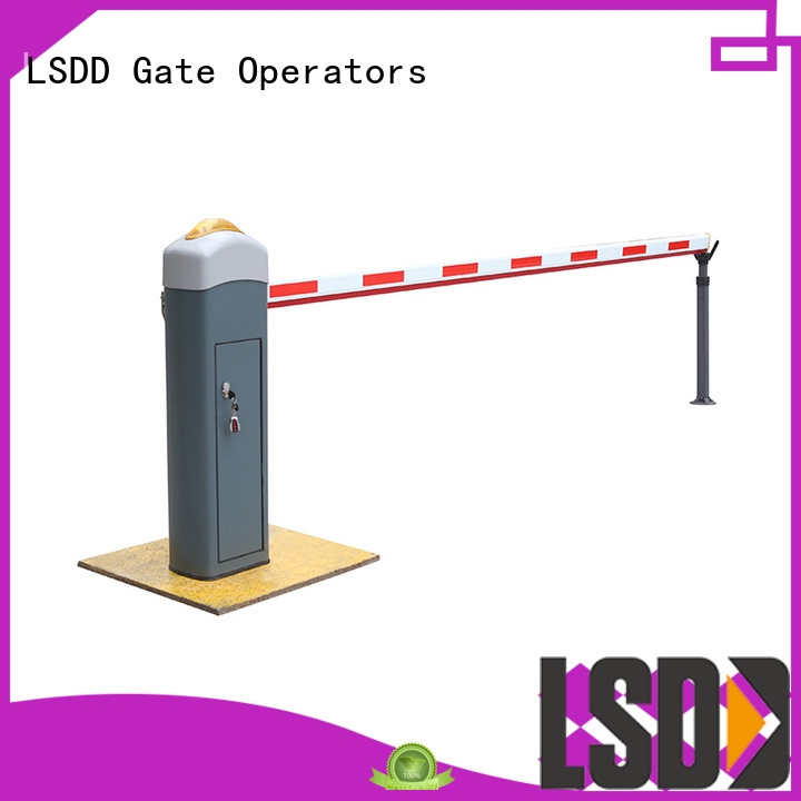 LSDD arm parking barrier gate wholesale for community