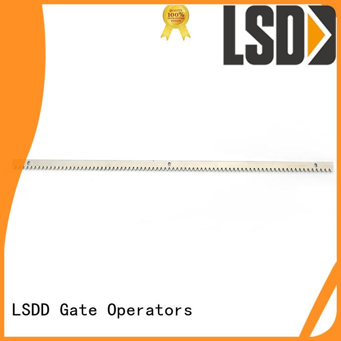 LSDD plastic metal gear rack wholesale for gate