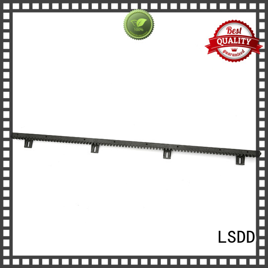LSDD durable plastic gear rack manufacturer for community