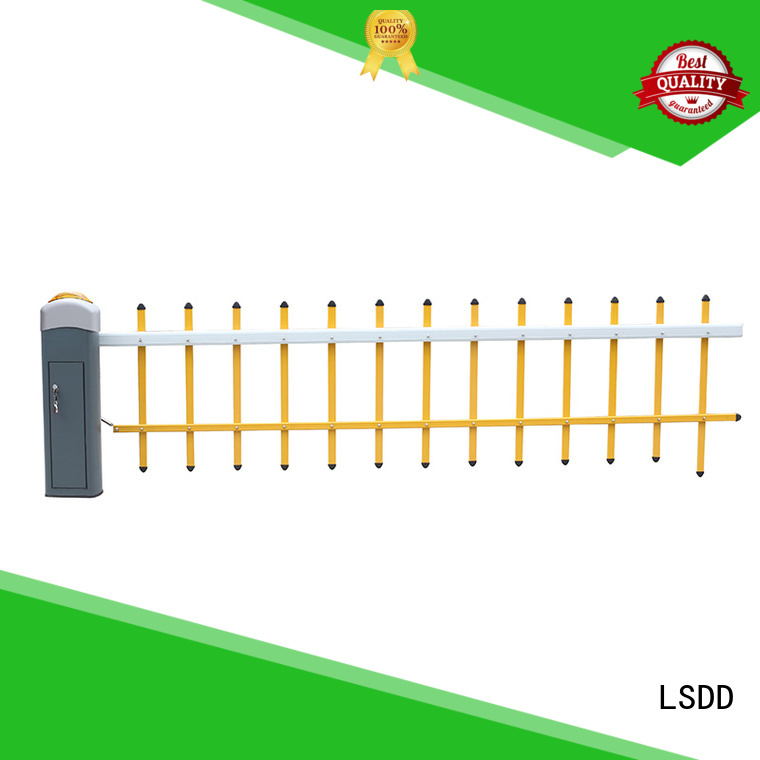 LSDD high quality parking barrier gate wholesale for community