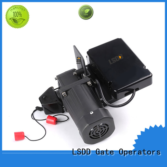 LSDD sectional electric roller gate motors manufacturer for door