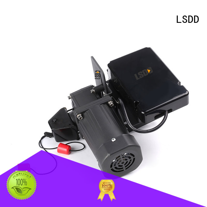 LSDD high quality roll up door motor supplier for gate