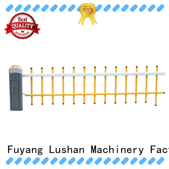 LSDD high quality boom barrier supplier for community