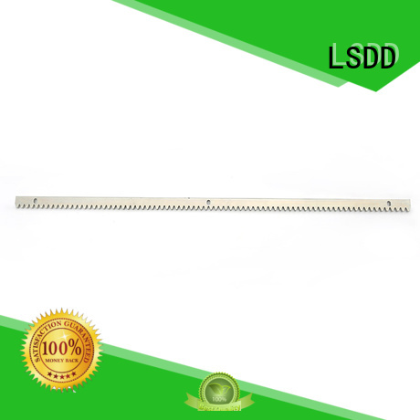 LSDD automatic nylon gear rack manufacturer for community
