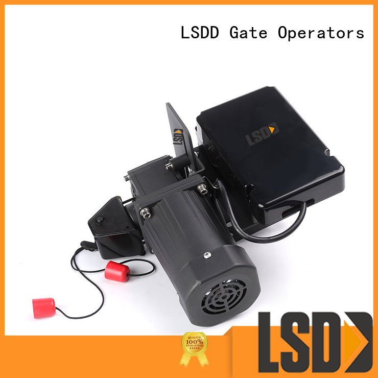 LSDD automatic electric roll up garage door openers sectional for gate