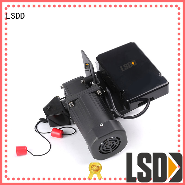LSDD automatic electric roller gate motors wholesale for door