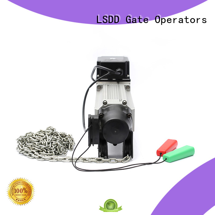 LSDD industrial roll up garage door opener manufacturer for gate