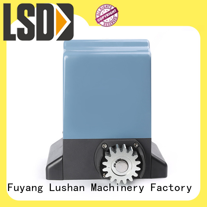 LSDD sliding dual automatic gate opener working placidly for door