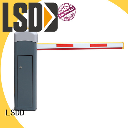 LSDD crowd parking lot gate arms wholesale for barrier parking