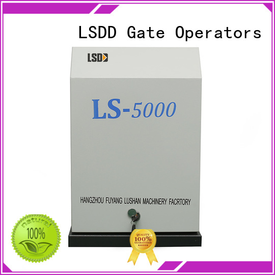 LSDD professional commercial sliding gate opener working placidly for gate
