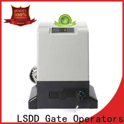 LSDD industrial industrial gate openers working placidly for door