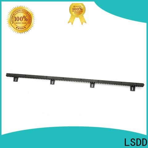 LSDD high quality nylon gear rack supplier for barrier gate