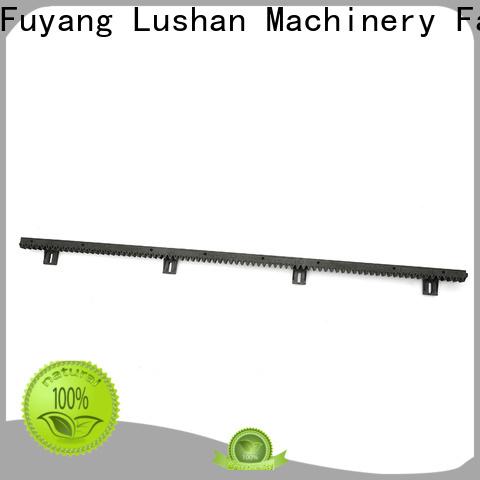 online metal gear rack nylon manufacturer for barrier parking