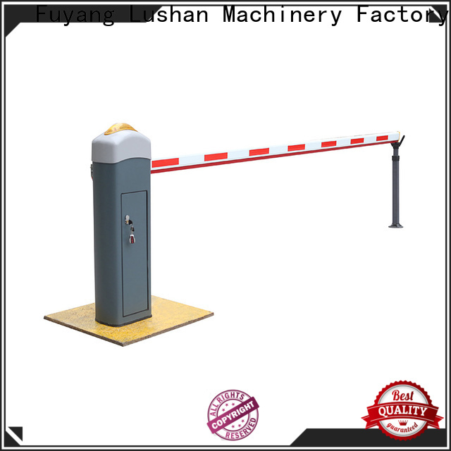 LSDD priced-low car park barriers wholesale for community