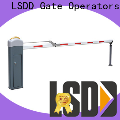 LSDD plastic parking lot barrier wholesale for gate