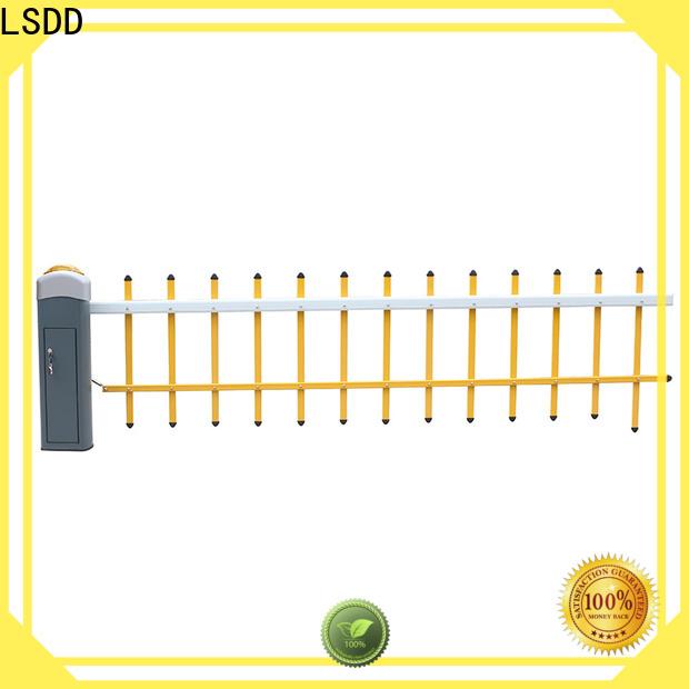 LSDD retractable parking gate supplier for parking