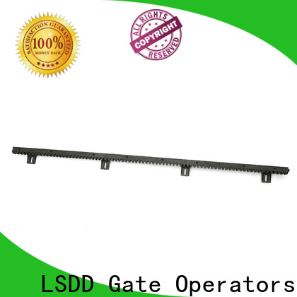 LSDD durable cnc gear rack manufacturer for barrier parking