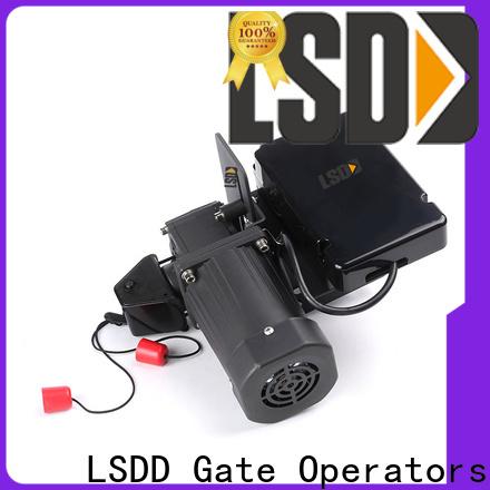LSDD door electric roll up garage door openers supplier for gate