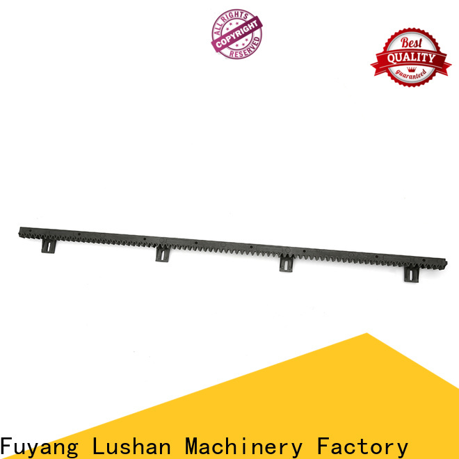 automatic stainless steel gear rack nylon supplier for barrier parking