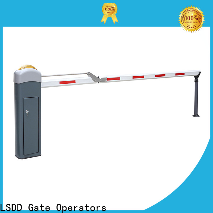 LSDD retractable parking lot gate arms supplier for barrier parking