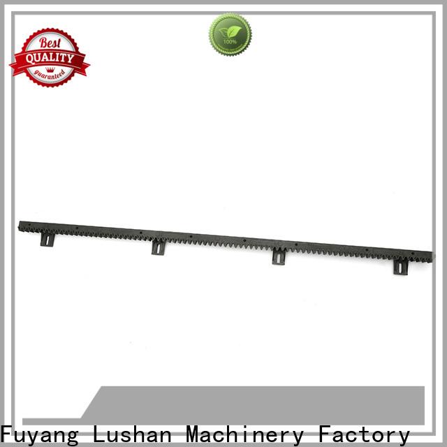 LSDD durable nylon gear rack manufacturer for barrier gate