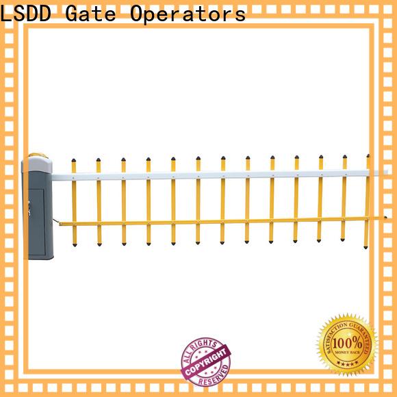 LSDD online rising arm barrier manufacturer for barrier parking