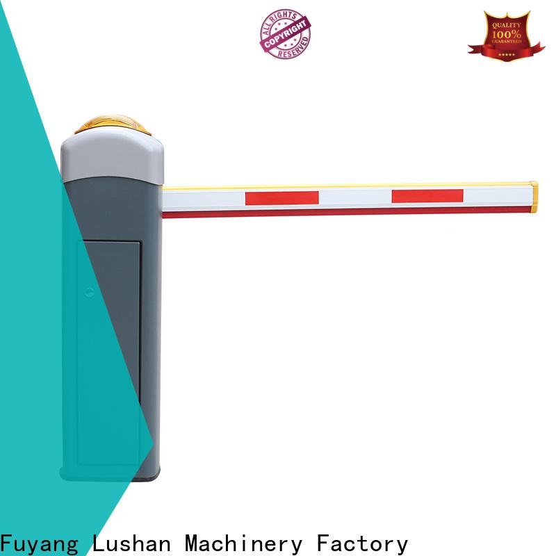 LSDD online boom barrier gate manufacturer for community